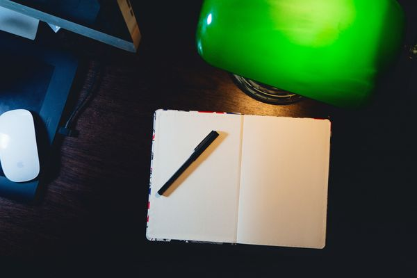 Ghost Blog, Live Stream, and a Blank Page - The Week