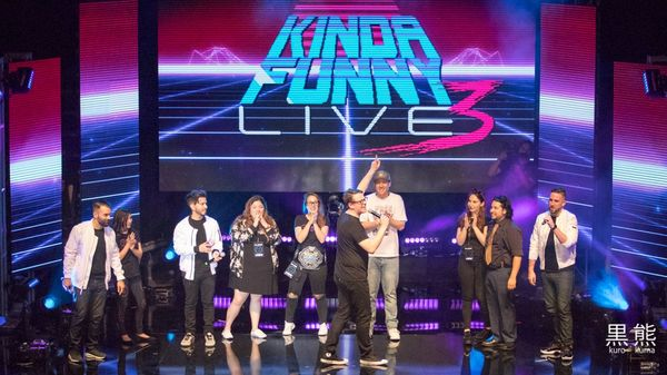 Kinda Funny Live 3 Photos, the Final Countdown!