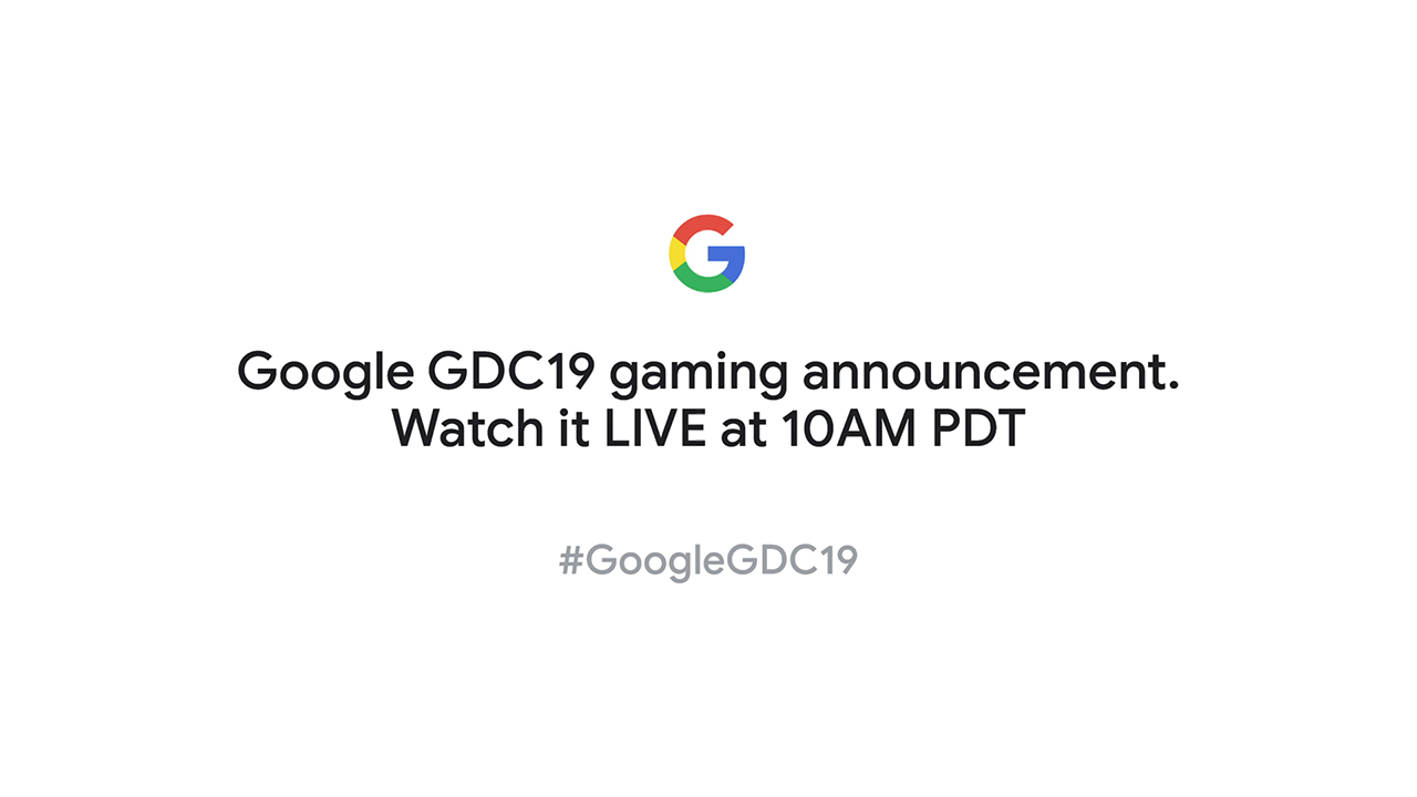 Link to Google GDC 2019 Stadia Announcement