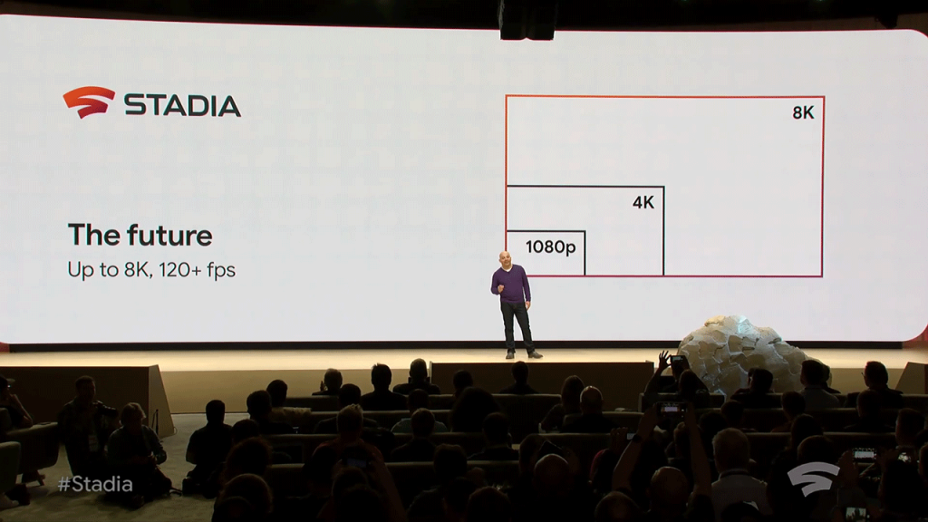 Stadia being announced at GDC2019